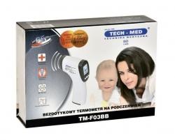 Bezdotykowy termometr TM-F03BB TechMed