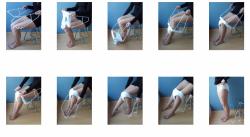 Przyrząd do zakładania spodni i bielizny