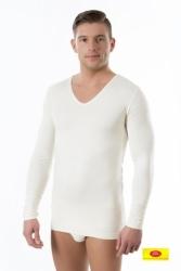 Koszulka męska długi rękaw Pani Teresa 100% BAMBUS