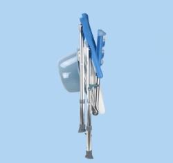 Krzesło toaletowo –prysznicowe składane AR-104