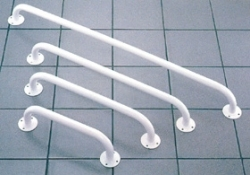 Uchwyt łazienkowy - stalowy