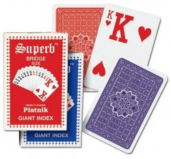 Karty Piatnik dla słabowidzących