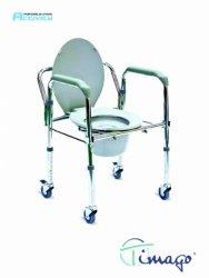 Krzesło toaletowe na kółkach (JMC-C 5202W)