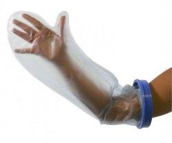 Wodoodporny ochraniacz gipsu na rękę – długi