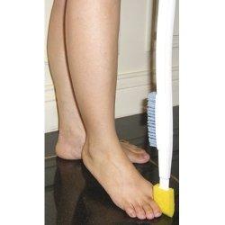 Szczotka z gąbką do czyszczenia stóp