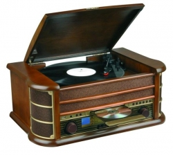 Gramofon z CD i FM - Hyundai RTCC513RIP