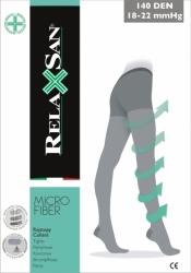 Rajstopy przeciwżylakowe RelaxSan 140 DEN z mikrofibry (18-22 mmHg)