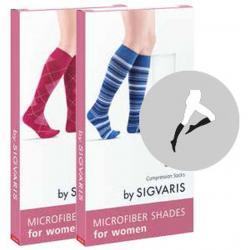 Podkolanówki profilaktyczne dla kobiet Microfiber Shades Sigvaris