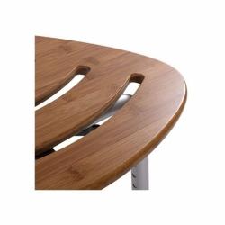 Taboret prysznicowy drewniany