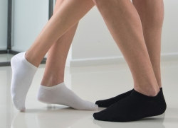 Skarpety krótkie (stopki) dla diabetyków ze srebrem RelaxSan