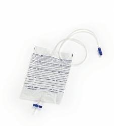 Worek do zbiórki moczu 2L sterylny odpływ typu T
