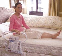 Ergonomiczna barierka do łóżka