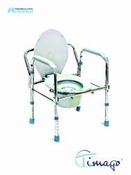 Krzesło toaletowe składane (KT 023B)