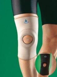 Orteza kolana z silikonowym wzmocnieniem rzepki Oppo