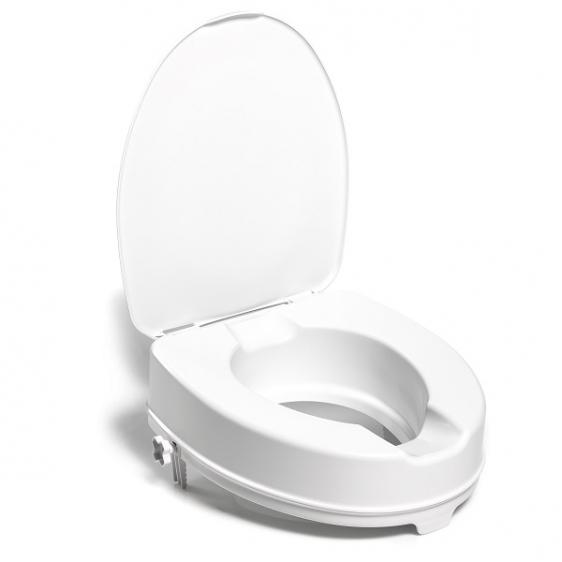 Nasadka toaletowa podwyższająca sedes z klapą