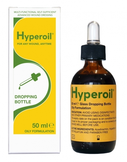 Olejek Hyperoil 50 ml Krople z zakraplaczem