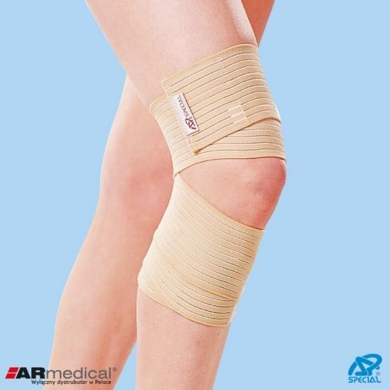 Elastyczny stabilizator stawu kolanowego zapinany Special