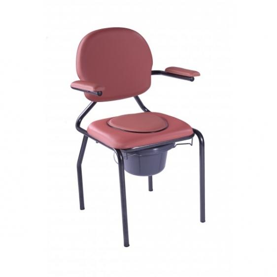 Krzesło sanitarne Best Up z uchylnymi podłokietnikami
