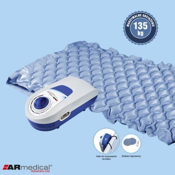 Materac pneumatyczny zmiennociśnieniowy - Bąbelkowy