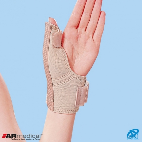 Orteza kciuka z szyną aluminiową Special