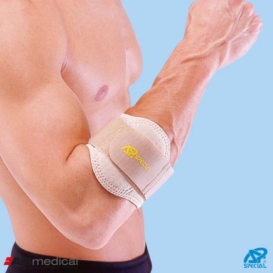 Stabilizator łokcia tenisisty z poduszką silikonową Special