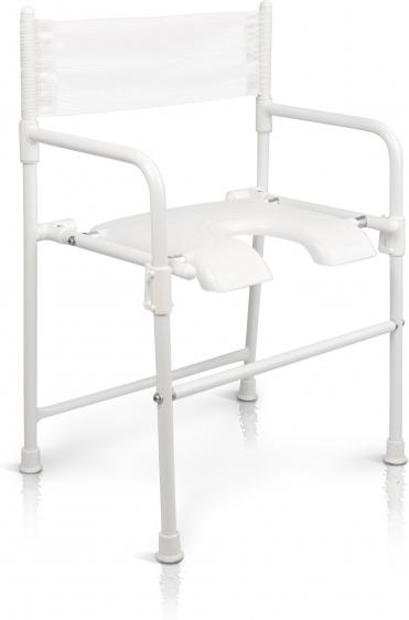 Krzesło prysznicowe składane do 130 kg Rufus Etac