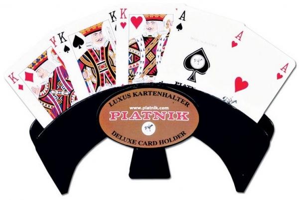 Trzymacz do kart Piatnik czarny