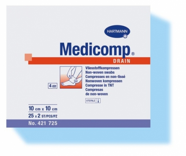 Kompres jałowy Medicomp Drain