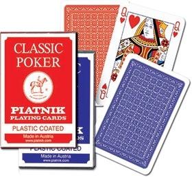 Karty Classic Poker Piatnik 1 talia