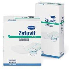 Zetuvit Plus do ran ostrych i chronicznych