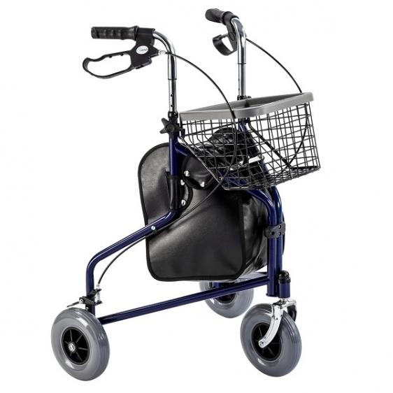 Chodzik inwalidzki trójkołowy stalowy TGR-R RT 892G