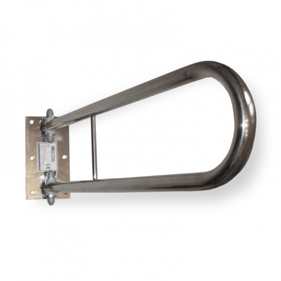 Poręcz ścienna uchylna WCL600KO