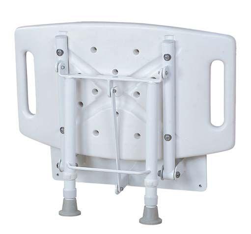 Ławka prysznicowa naścienna z nogami JMC-C 5105