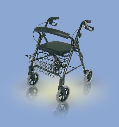 Chodzik aluminiowy czterokołowy AT51003