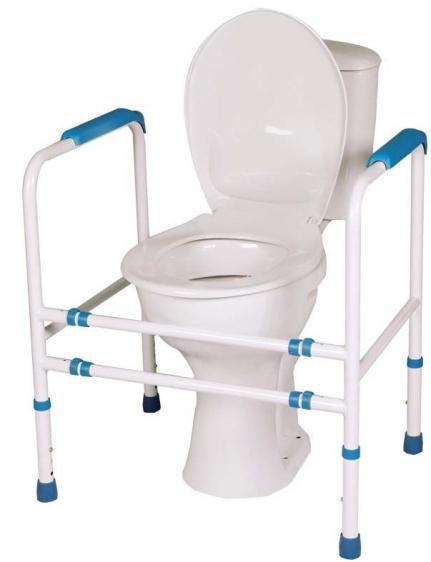 Rama na WC z czterema nogami