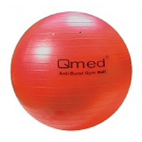 Piłka rehabilitacyjna do ćwiczeń Qmed 55 cm