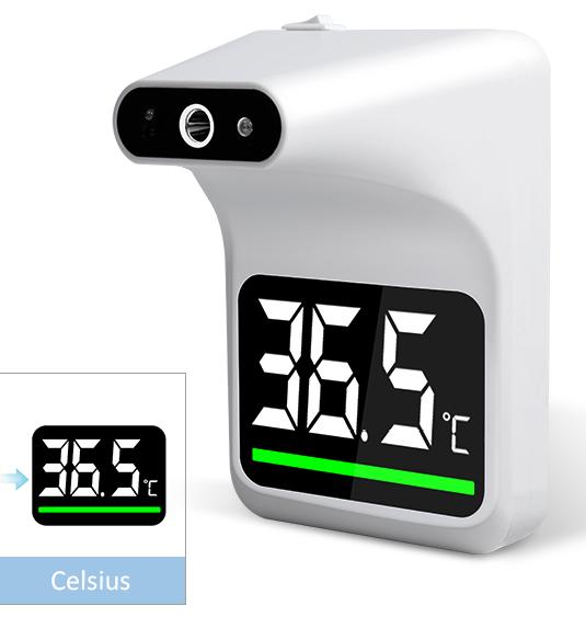 Termometr ścienny bezdotykowy medyczny