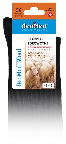 Skarpety z wełną merynosową DeoMed Wool