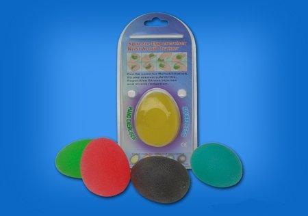 Żelowa piłka do rehabilitacji dłoni - owalna