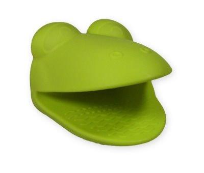 Silikonowa łapka na gorące naczynia - żabka