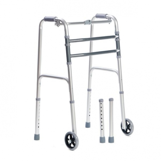 Balkonik rehabilitacyjny kroczący + koła