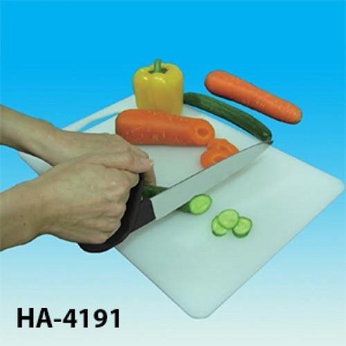Nóż do krojenia z owalnym uchwytem gładki