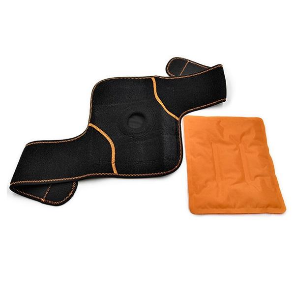 Okład żelowy na kolano do terapii ciepłem lub zimnem